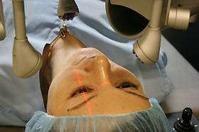 Движение глаз центральное зрение